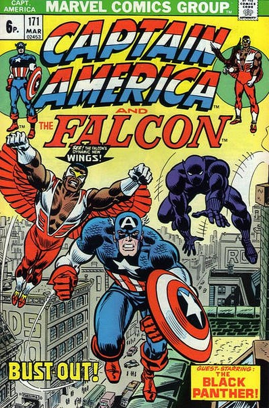 Cover of Captain America (Vol 1) #171. One of 250,000 Vintage American Comics on sale from Krypton!