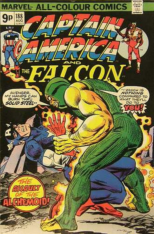 Cover of Captain America (Vol 1) #188. One of 250,000 Vintage American Comics on sale from Krypton!