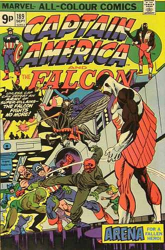 Cover of Captain America (Vol 1) #189. One of 250,000 Vintage American Comics on sale from Krypton!