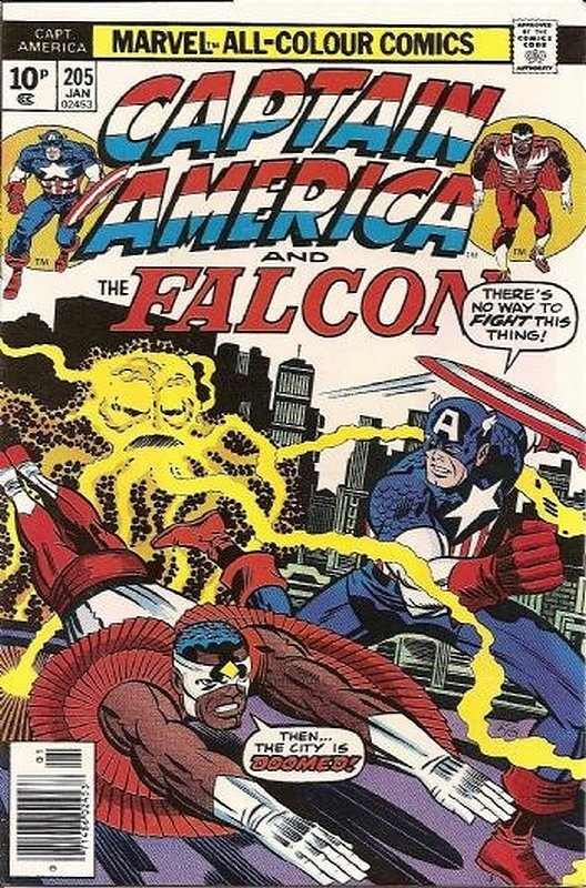 Cover of Captain America (Vol 1) #205. One of 250,000 Vintage American Comics on sale from Krypton!