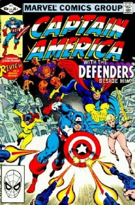 Cover of Captain America (Vol 1) #268. One of 250,000 Vintage American Comics on sale from Krypton!