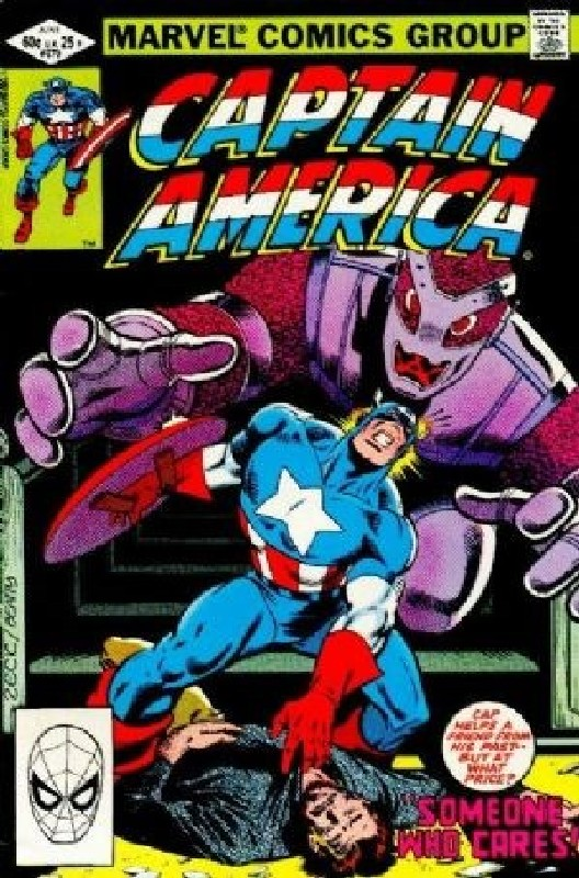 Cover of Captain America (Vol 1) #270. One of 250,000 Vintage American Comics on sale from Krypton!