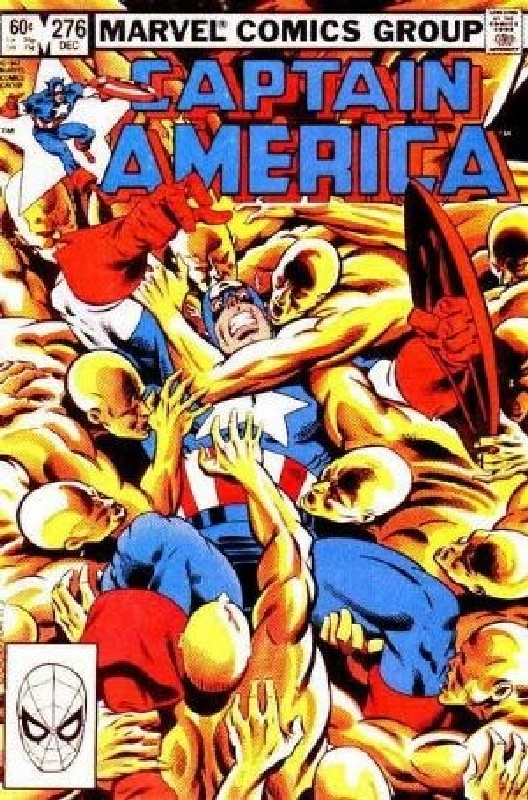 Cover of Captain America (Vol 1) #276. One of 250,000 Vintage American Comics on sale from Krypton!