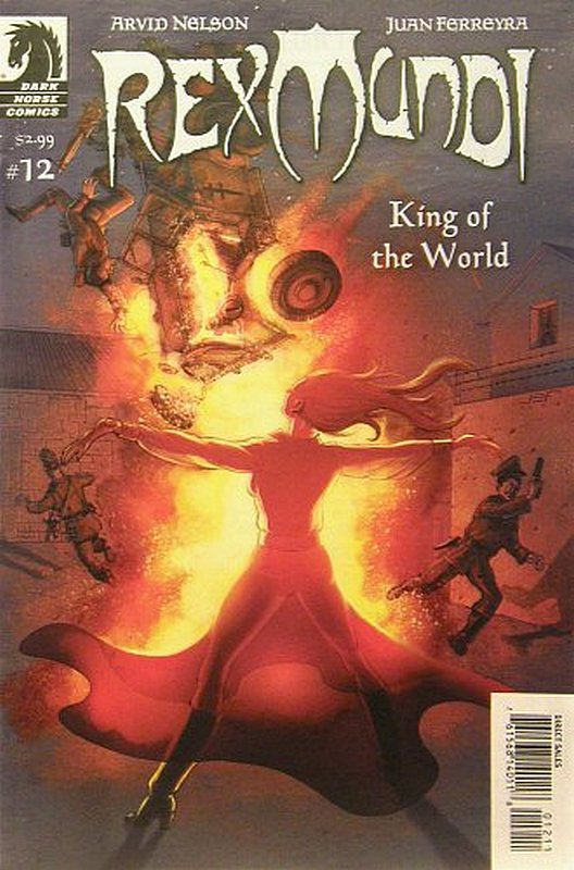 Cover of Rex Mundi (Vol 2) #12. One of 250,000 Vintage American Comics on sale from Krypton!