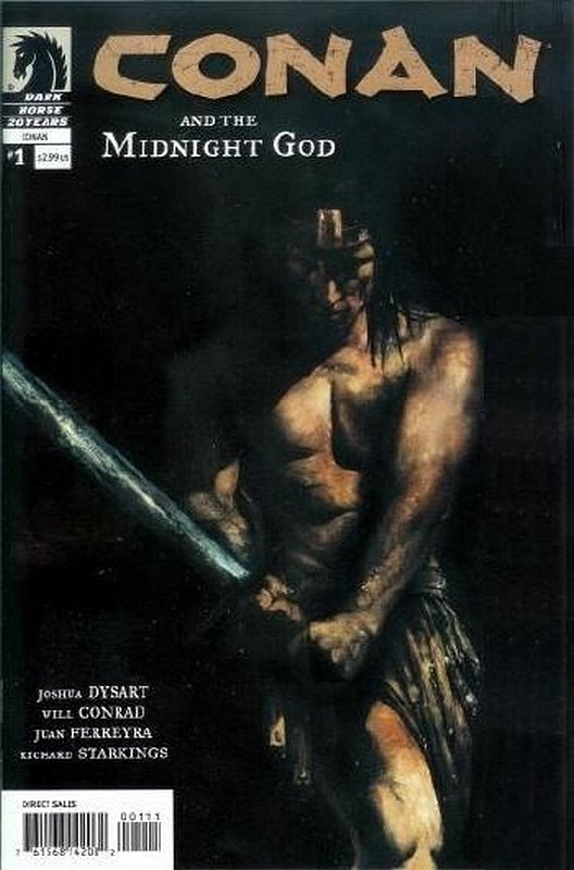 Cover of Conan & The Midnight God (2007 Ltd) #1. One of 250,000 Vintage American Comics on sale from Krypton!