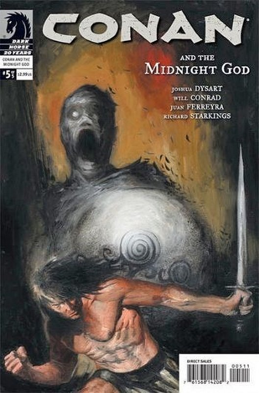 Cover of Conan & The Midnight God (2007 Ltd) #5. One of 250,000 Vintage American Comics on sale from Krypton!