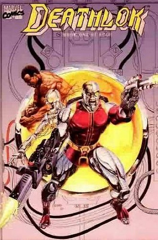 Cover of Deathlok (1990 Ltd) #1. One of 250,000 Vintage American Comics on sale from Krypton!