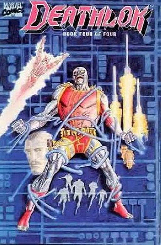 Cover of Deathlok (1990 Ltd) #4. One of 250,000 Vintage American Comics on sale from Krypton!
