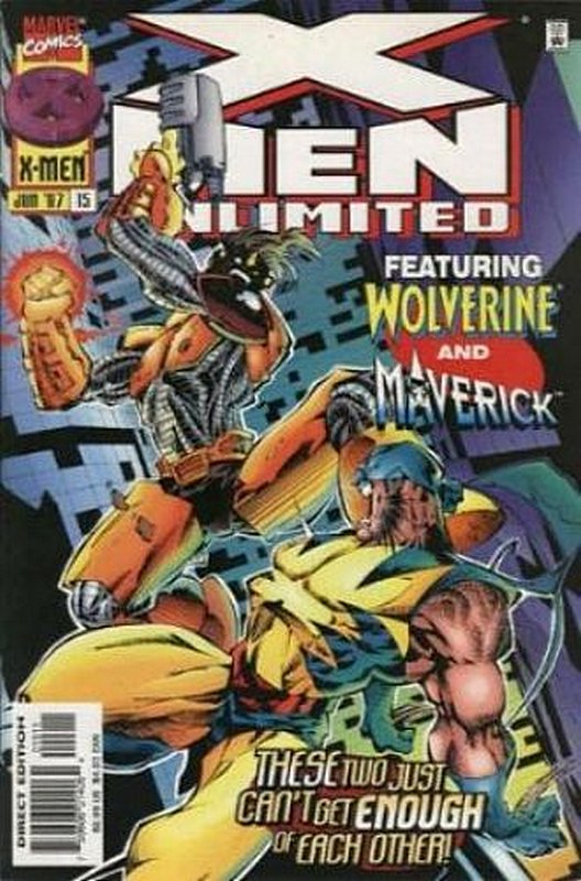 Cover of X-Men Unlimited (Vol 1) #15. One of 250,000 Vintage American Comics on sale from Krypton!