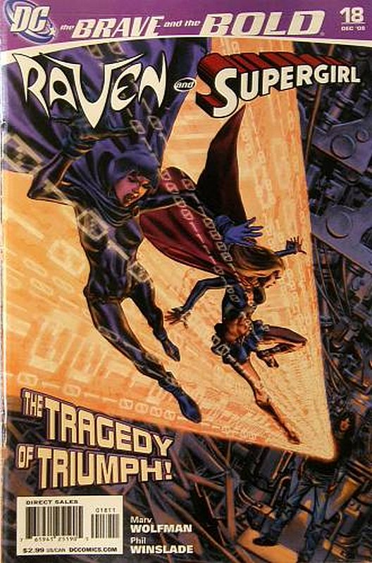 Cover of Brave & The Bold (Vol 2) #18. One of 250,000 Vintage American Comics on sale from Krypton!