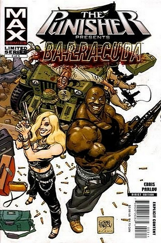 Cover of Punisher Presents: Barracuda Max (2007 Ltd) #3. One of 250,000 Vintage American Comics on sale from Krypton!