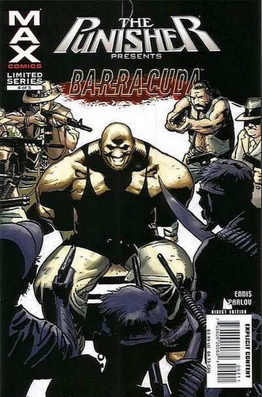 Cover of Punisher Presents: Barracuda Max (2007 Ltd) #4. One of 250,000 Vintage American Comics on sale from Krypton!