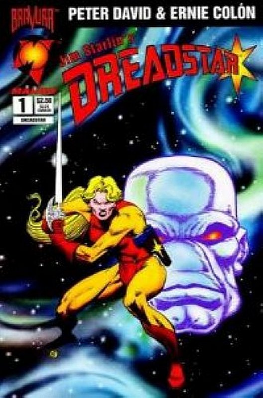 Cover of Dreadstar (1994 Ltd) Jim Starlins #1. One of 250,000 Vintage American Comics on sale from Krypton!