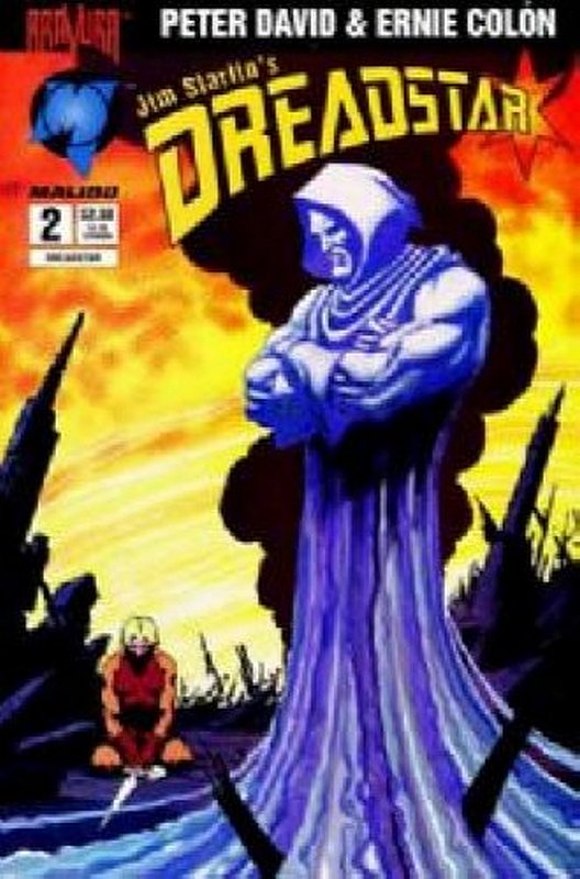 Cover of Dreadstar (1994 Ltd) Jim Starlins #2. One of 250,000 Vintage American Comics on sale from Krypton!