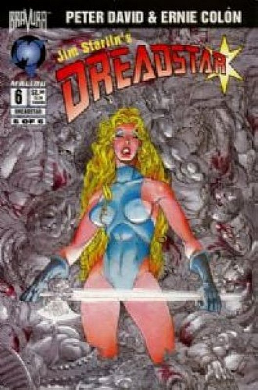 Cover of Dreadstar (1994 Ltd) Jim Starlins #6. One of 250,000 Vintage American Comics on sale from Krypton!