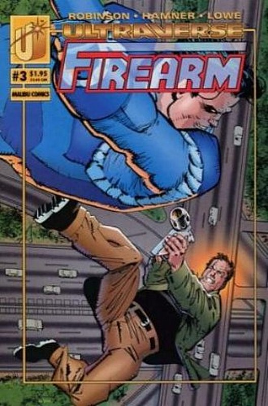 Cover of Firearm (Vol 1) #3. One of 250,000 Vintage American Comics on sale from Krypton!