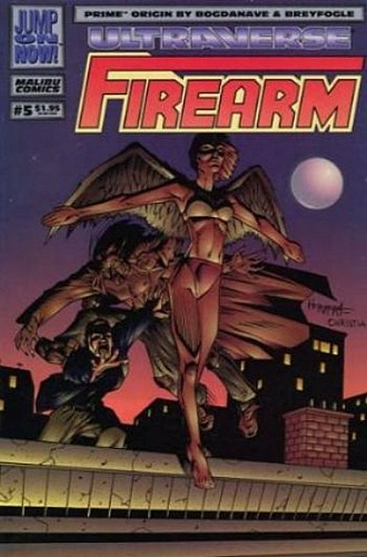 Cover of Firearm (Vol 1) #5. One of 250,000 Vintage American Comics on sale from Krypton!