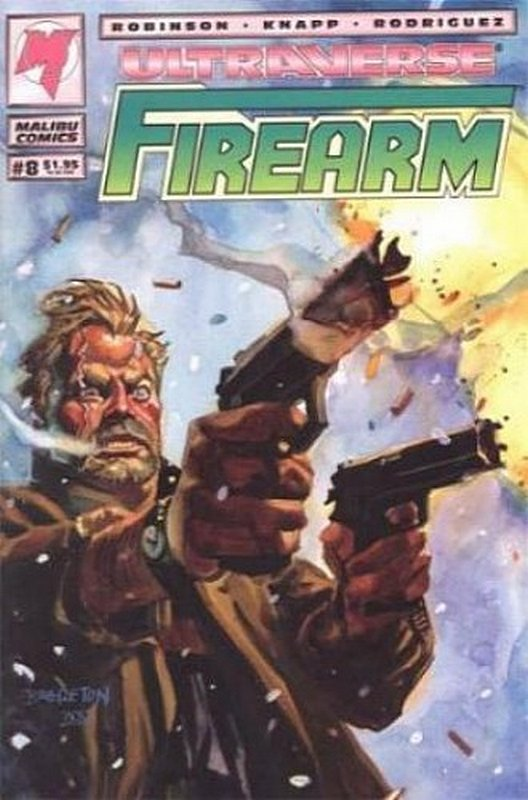 Cover of Firearm (Vol 1) #8. One of 250,000 Vintage American Comics on sale from Krypton!