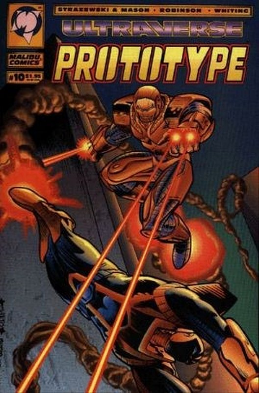 Cover of Prototype (Vol 1) (Malibu) #10. One of 250,000 Vintage American Comics on sale from Krypton!