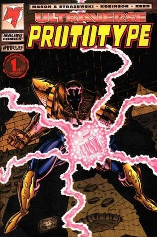 Cover of Prototype (Vol 1) (Malibu) #11. One of 250,000 Vintage American Comics on sale from Krypton!