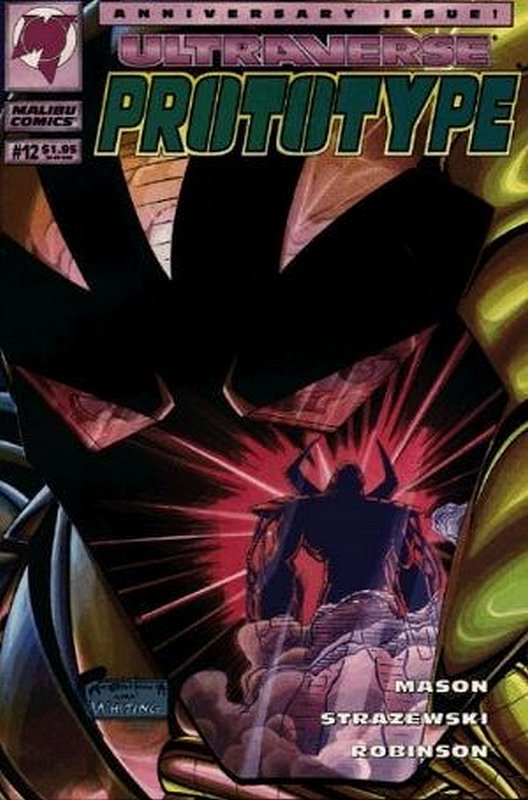 Cover of Prototype (Vol 1) (Malibu) #12. One of 250,000 Vintage American Comics on sale from Krypton!