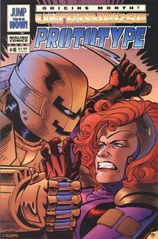 Cover of Prototype (Vol 1) (Malibu) #6. One of 250,000 Vintage American Comics on sale from Krypton!