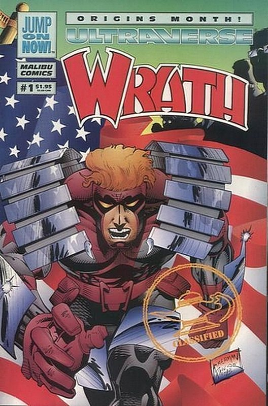 Cover of Wrath (Vol 1) #1. One of 250,000 Vintage American Comics on sale from Krypton!