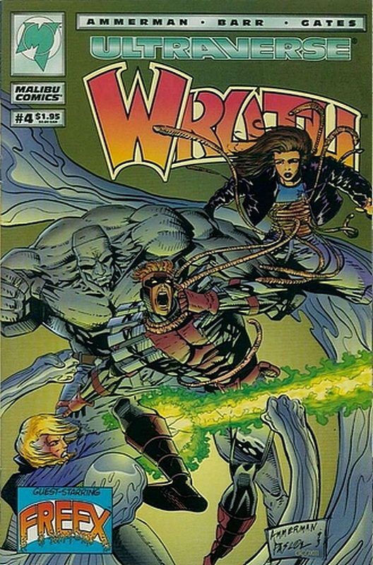 Cover of Wrath (Vol 1) #4. One of 250,000 Vintage American Comics on sale from Krypton!