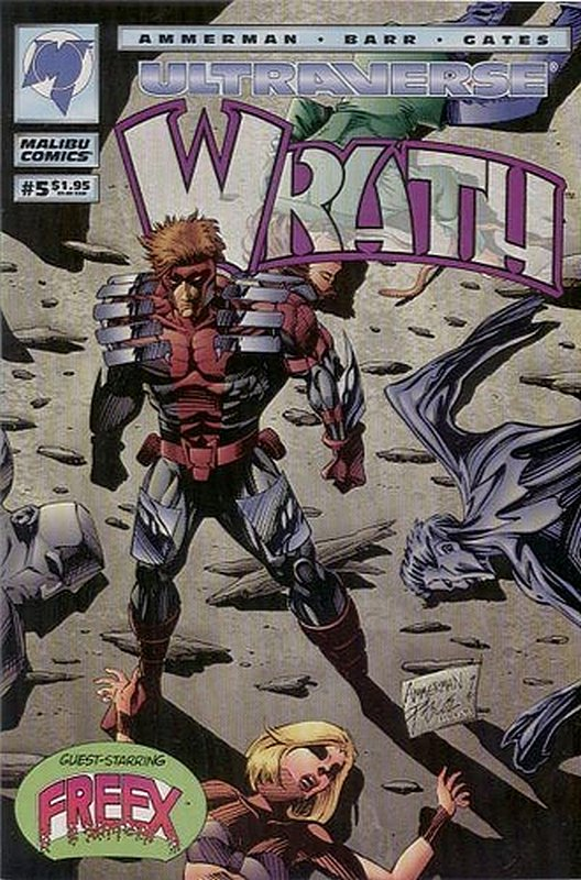 Cover of Wrath (Vol 1) #5. One of 250,000 Vintage American Comics on sale from Krypton!