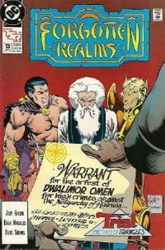 Cover of Forgotten Realms (Vol 1) #13. One of 250,000 Vintage American Comics on sale from Krypton!