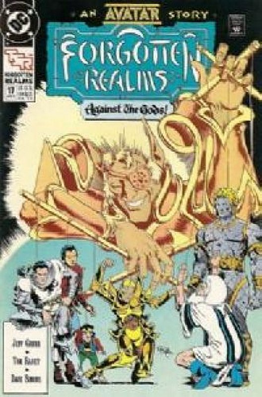 Cover of Forgotten Realms (Vol 1) #17. One of 250,000 Vintage American Comics on sale from Krypton!