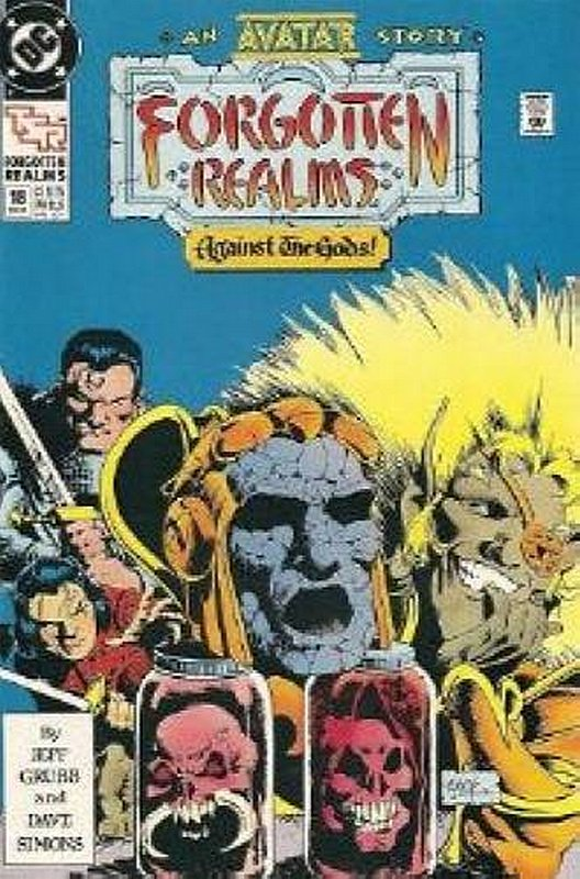 Cover of Forgotten Realms (Vol 1) #18. One of 250,000 Vintage American Comics on sale from Krypton!