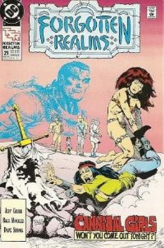 Cover of Forgotten Realms (Vol 1) #21. One of 250,000 Vintage American Comics on sale from Krypton!