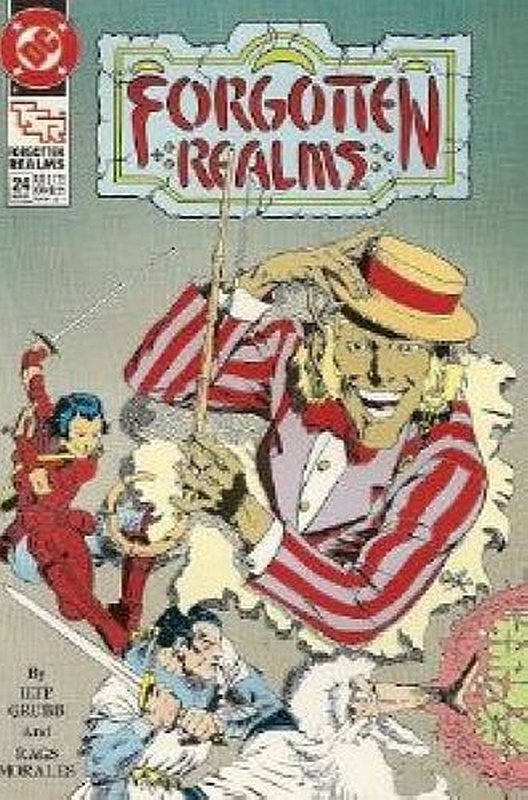 Cover of Forgotten Realms (Vol 1) #24. One of 250,000 Vintage American Comics on sale from Krypton!
