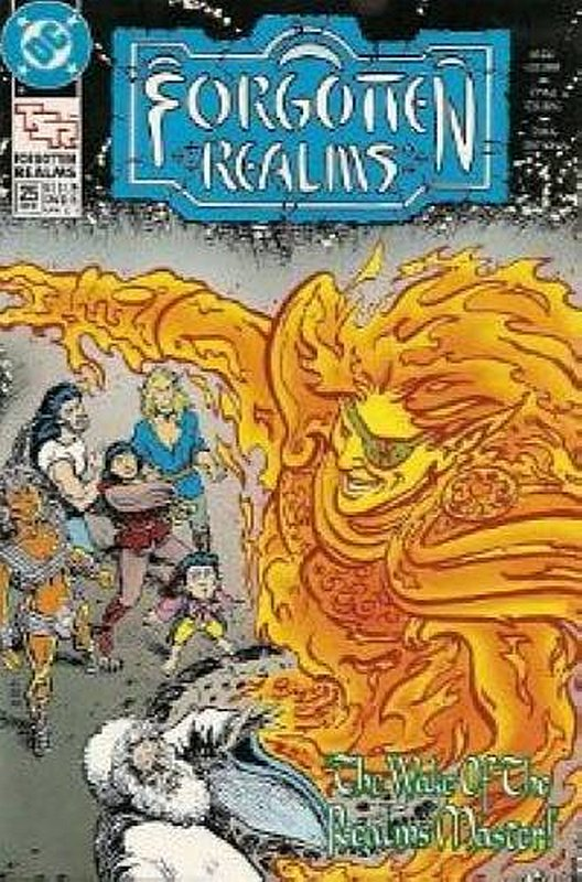 Cover of Forgotten Realms (Vol 1) #25. One of 250,000 Vintage American Comics on sale from Krypton!
