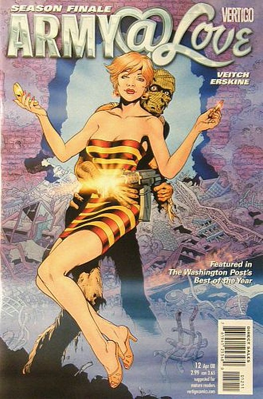 Cover of Army @ Love (Vol 1) #12. One of 250,000 Vintage American Comics on sale from Krypton!