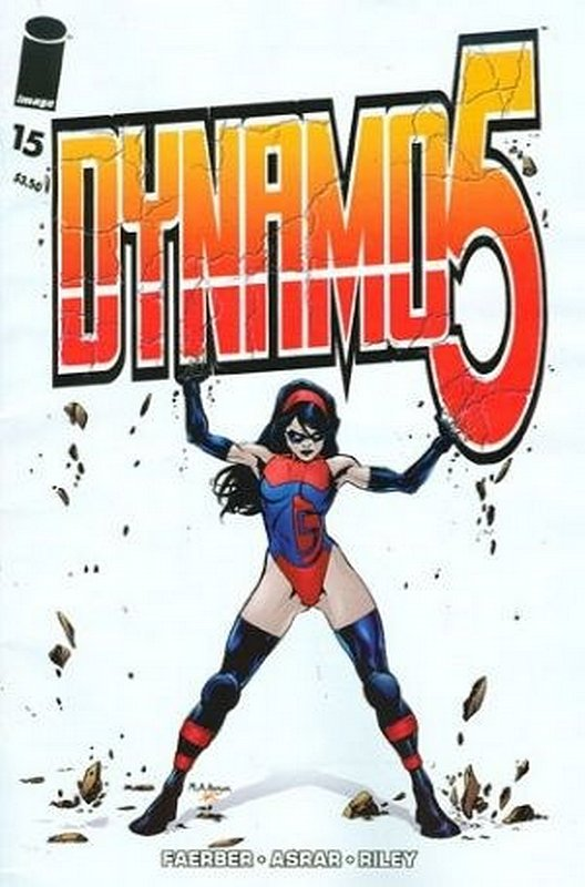 Cover of Dynamo 5 (Vol 1) #15. One of 250,000 Vintage American Comics on sale from Krypton!