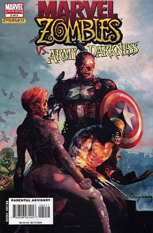 Cover of Marvel Zombies vs Army of Darkness (2007 Ltd) #2. One of 250,000 Vintage American Comics on sale from Krypton!
