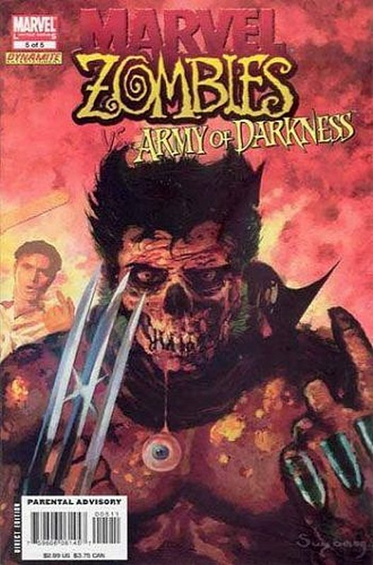 Cover of Marvel Zombies vs Army of Darkness (2007 Ltd) #5. One of 250,000 Vintage American Comics on sale from Krypton!