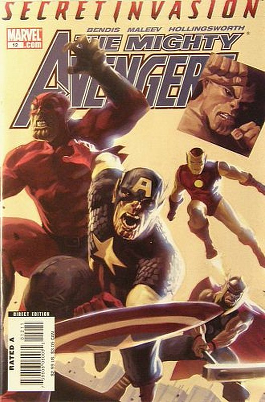 Cover of Mighty Avengers (Vol 1) #12. One of 250,000 Vintage American Comics on sale from Krypton!