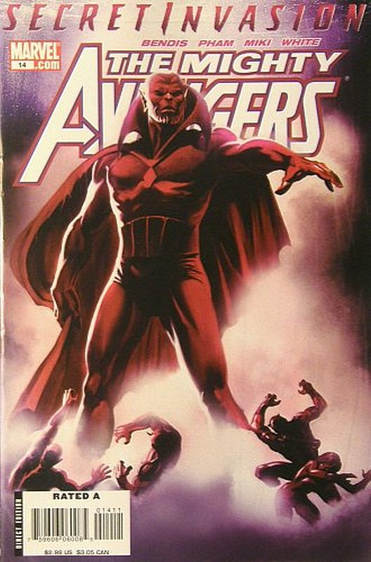 Cover of Mighty Avengers (Vol 1) #14. One of 250,000 Vintage American Comics on sale from Krypton!