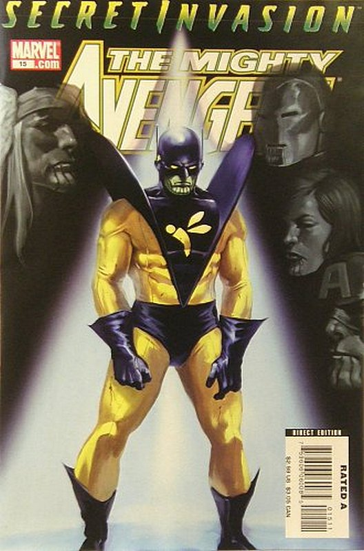 Cover of Mighty Avengers (Vol 1) #15. One of 250,000 Vintage American Comics on sale from Krypton!