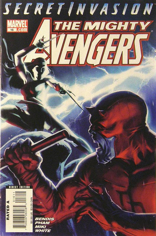 Cover of Mighty Avengers (Vol 1) #16. One of 250,000 Vintage American Comics on sale from Krypton!