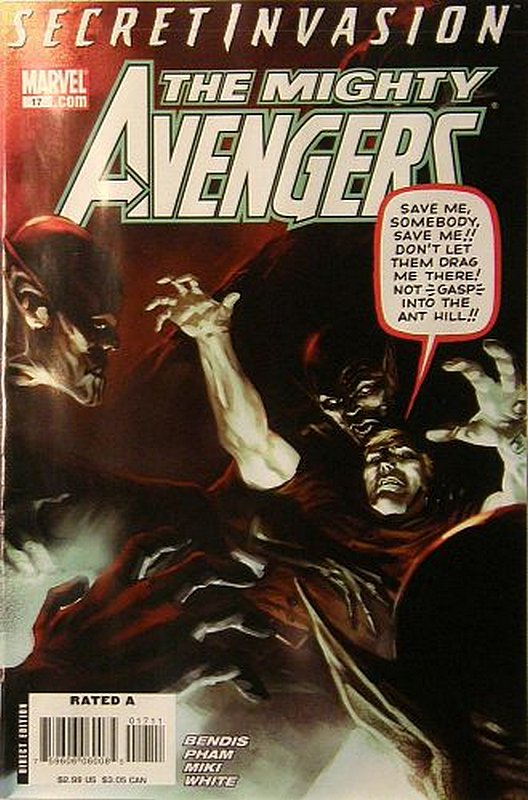 Cover of Mighty Avengers (Vol 1) #17. One of 250,000 Vintage American Comics on sale from Krypton!