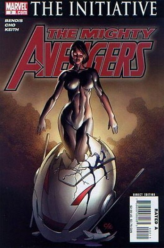 Cover of Mighty Avengers (Vol 1) #2. One of 250,000 Vintage American Comics on sale from Krypton!