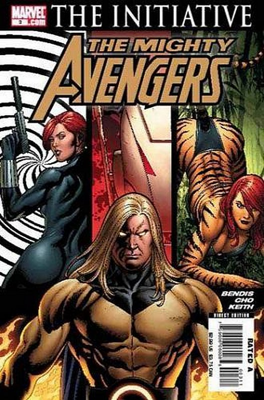 Cover of Mighty Avengers (Vol 1) #3. One of 250,000 Vintage American Comics on sale from Krypton!