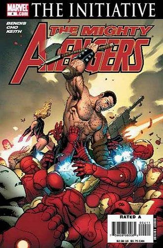Cover of Mighty Avengers (Vol 1) #4. One of 250,000 Vintage American Comics on sale from Krypton!