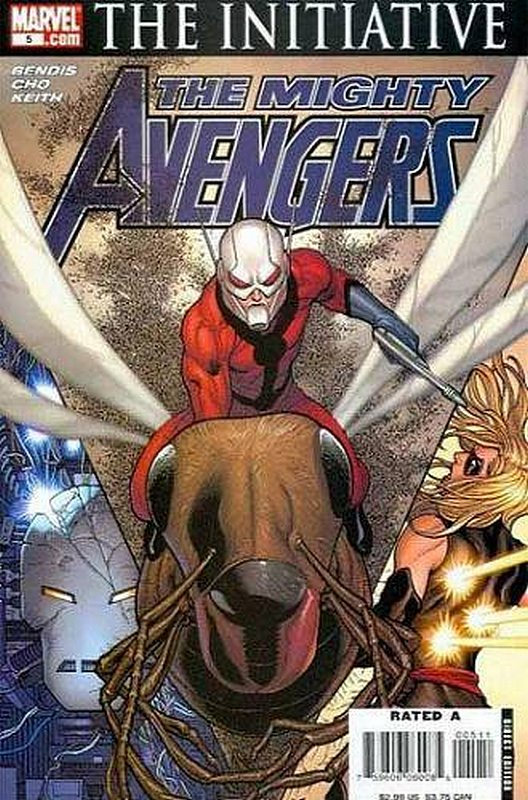Cover of Mighty Avengers (Vol 1) #5. One of 250,000 Vintage American Comics on sale from Krypton!