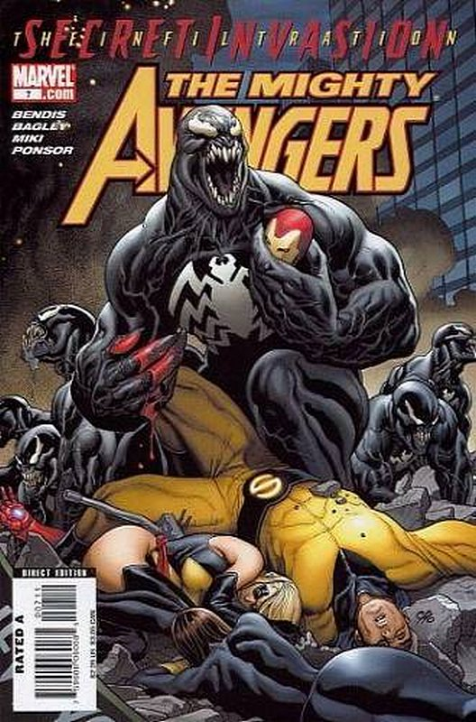 Cover of Mighty Avengers (Vol 1) #7. One of 250,000 Vintage American Comics on sale from Krypton!