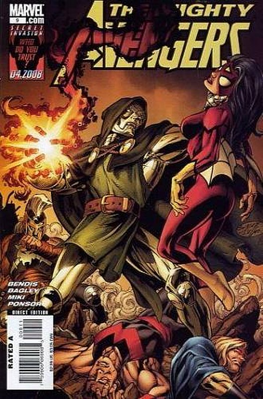 Cover of Mighty Avengers (Vol 1) #9. One of 250,000 Vintage American Comics on sale from Krypton!